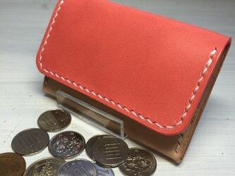 【春色桜色♫】コンパクトな四角いミニミニ財布の画像