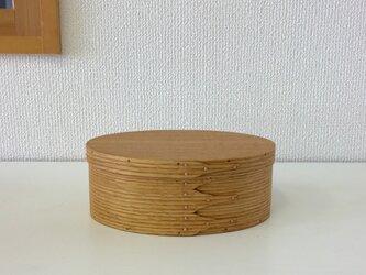 Shaker Oval Box #4 - レッドオークの画像