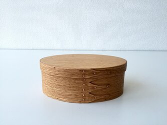 Shaker Oval Box #3 - レッドオークの画像