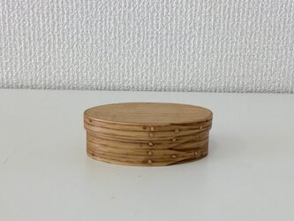 Shaker Oval Box #0 - レッドオークの画像