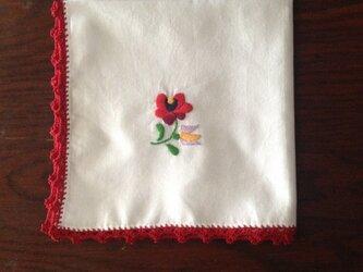 刺繍ハンカチ3の画像