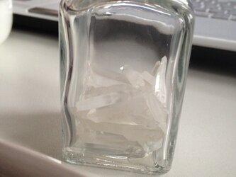 小ビン+水晶さざれの画像