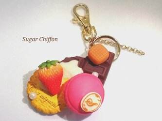 【送料無料】スイーツいっぱいバッグチャーム♡の画像