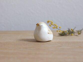 【暦鳥・春】うぐいす (淡)国産ヒノキの木箱入り ※受注制作の画像