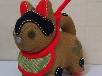 張子犬  BIYO まいかけ (黄つるばみ)の画像