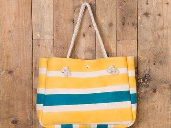 Rope handle Tote bag(ShimaShima)の画像