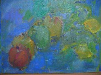 りんご4兄弟とレモンの会話の画像