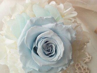 プリザーブドフラワー ブルーミニョン ウエディングの画像