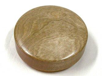 胡桃鶉杢丸形被蓋くり物 No.072の画像