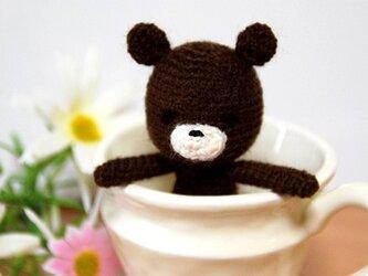 森のくまさん(こげ茶)の画像