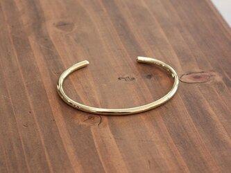 真鍮丸棒腕輪小 rb-29の画像