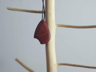 「樹音」 木のストラップ ~花梨02~の画像