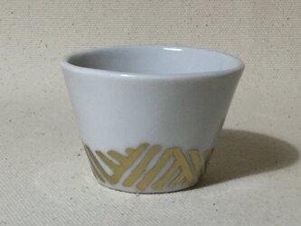 168 磁器金彩酒杯の画像