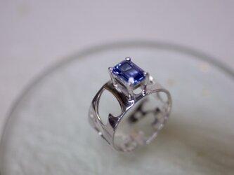Many hearts of Tanzanite ring 〜あなたから出発〜の画像