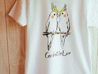 オカメインコのTシャツの画像