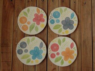 tataki plate - flower -の画像