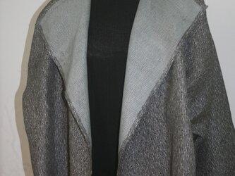 ブラウス ジャケット 一重仕立ての画像