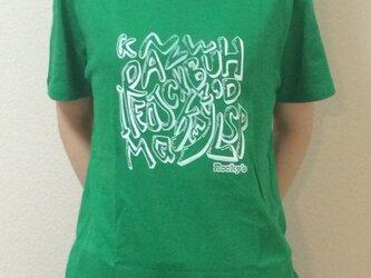 【Rocky's?】Rocky's オリジナルTシャツ グリーンの画像