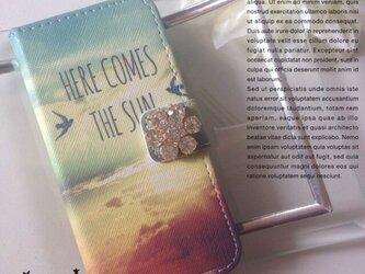 ♡sky 手帳型 iPhone5,5s iPhone6,6sケース♡の画像