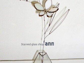 ステンドグラス フラワー160407Wの画像