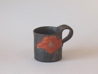 再販:紅椿紋マグカップの画像