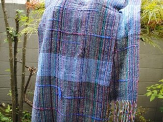 シルク手織ストール 1の画像
