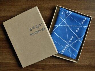 藍染ハンカチ(線々)の画像