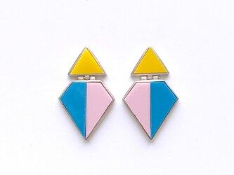 Tri-color(トリコロール)Penélope/ピアスの画像