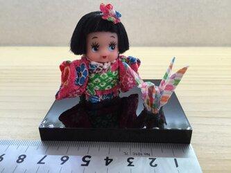 キューピーさんの日本人形の画像