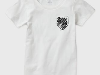 【送料無料】にせぽっけTシャツ WOMEN WHITEの画像
