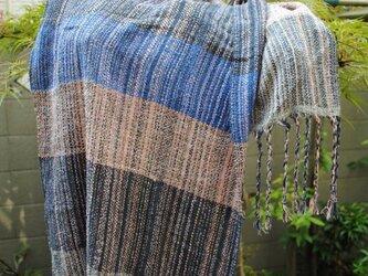 シルク手織ストール 2の画像
