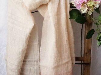 手織ストール*春霞の画像