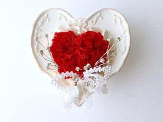 ♡ご結婚お祝いに♡ Heartarrange(preserved flowers )の画像