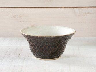 ボウル(飴釉 しのぎ碗 - タイプA)の画像