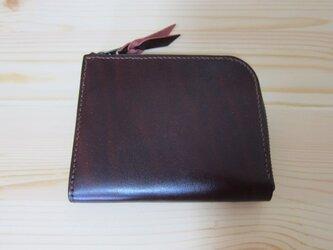 L字ファスナー財布(ルガトショルダー ワイン)の画像