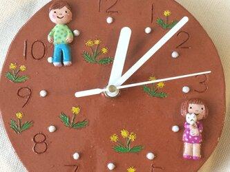 【R様 オーダー品】壁掛時計の画像