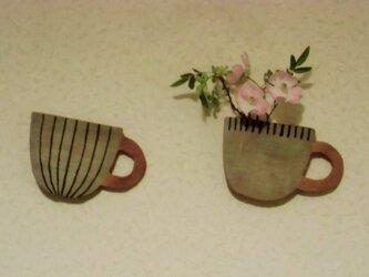 壁掛けvase*cupの画像