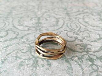 SANAGIリング/真鍮の画像