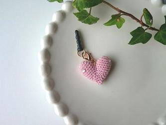 HEART イヤホンジャック(ピンク)の画像