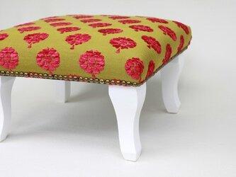 足置きフットスツール マカロン リンゴ 正座椅子にもの画像