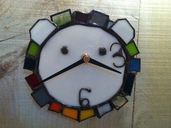 時計(らいおん)の画像