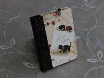 ★お名前入り★  my メモ帳ホルダー *カード*の画像