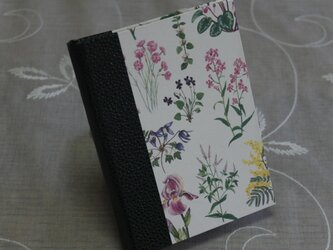 ★お名前入り★  my メモ帳ホルダー *野の花*の画像