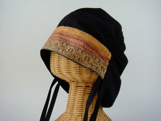 サイドギャザー帽子 01-GDの画像