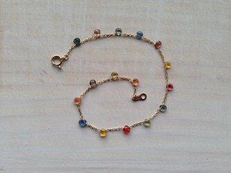 K10 baby marron sapphire braceletの画像