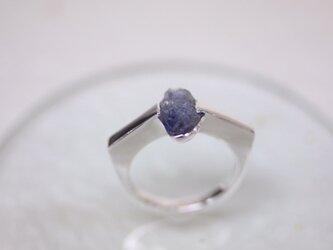 Simple tanzanite ring  〜守られる目〜の画像