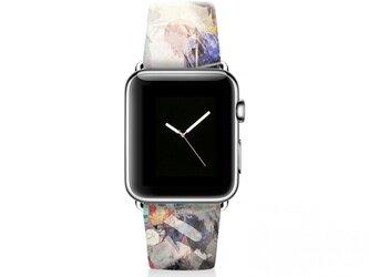 本革☆Apple Watch アップルウォッチ バンド ファッション ベルト 交換 ベルト 022の画像