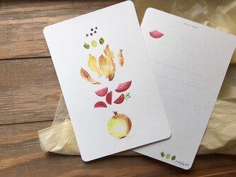 Fresh Vegetables タマネギのカードの画像