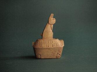 ウサギとカメ 菓子BOXの画像