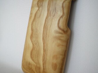【受注制作】木製iPhoneケース(iPhone 6用)(栗)の画像